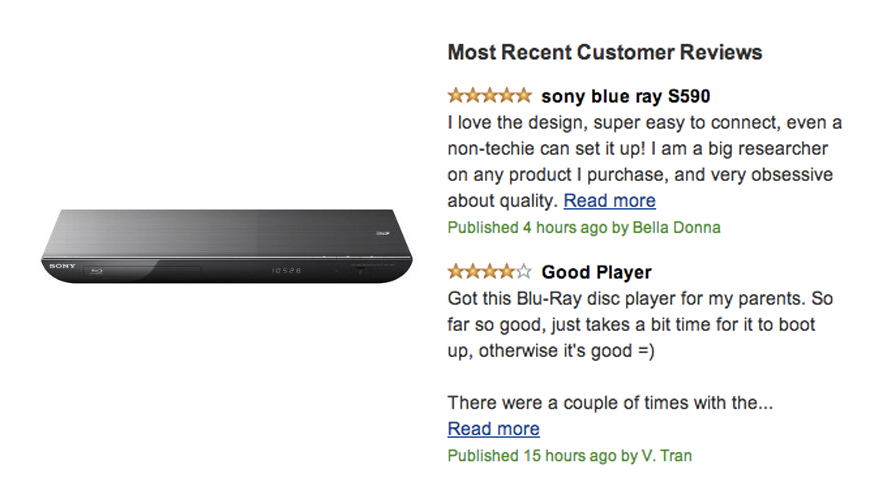 Sony BDP-5590 3D Blu-ray Disc Player Review – Reviews4u com